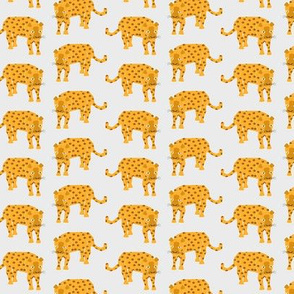 Jaguar (SMALL) - tiger lion cat animal safari wild jungle rainforest yellow spots adventure baby kids boys girls nursery