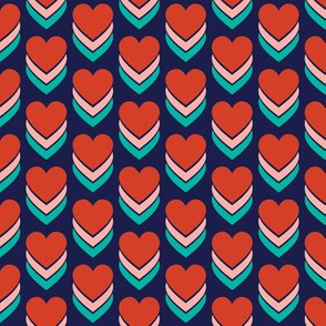 Sweethearts* (Jackie Blue) || heart candy hearts valentine valentines day love pop art