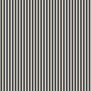 Stripes Black Ivory