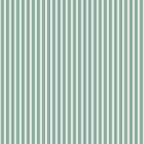 Stripes Jade Ivory