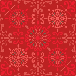 Moroccan Hanky Red