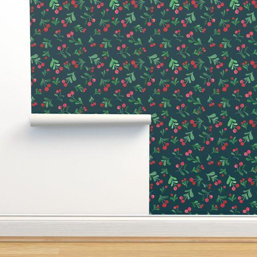 Winter berries - Spoonflower
