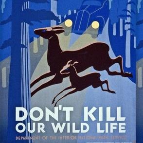 WPA- Don't Kill Our WIldlife