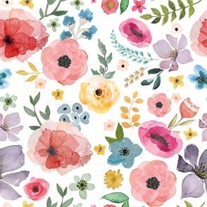 """18"""" Floral Fiesta"""