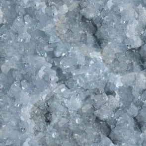 Stones // Light Blue Celestite Crystal