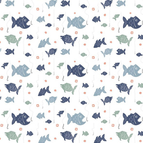 Fishing in the Fishy School - Blues