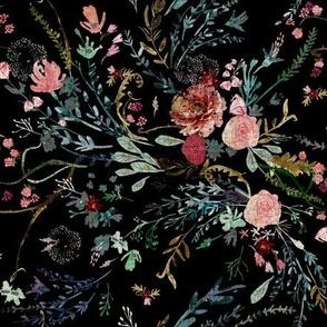 Fable  Floral (black) MED