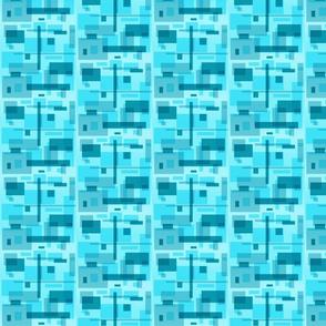 mod blue rectangles