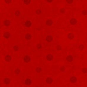 Red with red polka dots