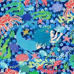 Mermaid ocean //
