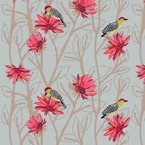 woodpecker 1   [sepia]