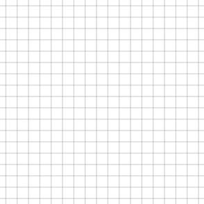 """light grey windowpane grid 1"""" square check graph paper"""