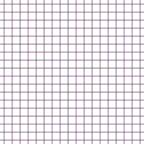 """grape windowpane grid 1"""" square check graph paper"""