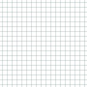 """slate blue windowpane grid 1"""" square check graph paper"""
