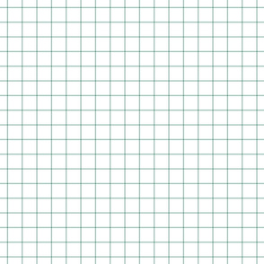 "faded teal windowpane grid 1"" square check graph paper"