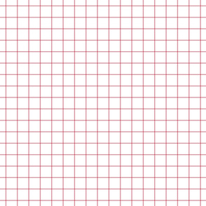 "berry cream windowpane grid 1"" square check graph paper"