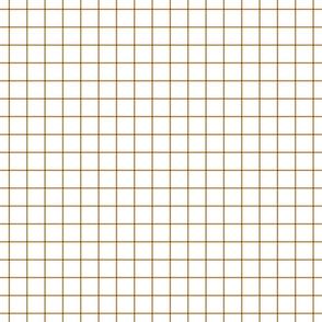 """caramel windowpane grid 1"""" square check graph paper"""