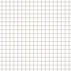 """tan windowpane grid 1"""" square check graph paper"""