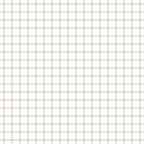 "toasted nut windowpane grid 1"" square check graph paper"
