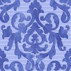 Blue Damask Small