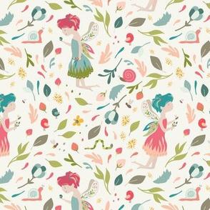 Fairy Flower Sprite Pixie Floral Wonders