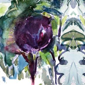 Aubergine_watercolor_cestlaviv