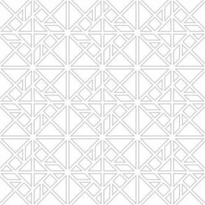 00617348 : tangram fretwork