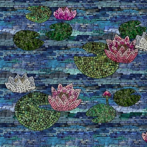 WaterliliesMosaic
