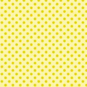 Small polka_dots_yellow_on_yellow