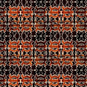 Stitched Adinkra Mosaic