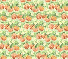 Orange Blossom Mosaic