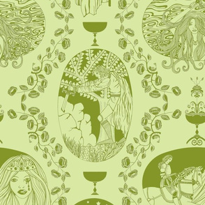 Tales of King Arthur - green