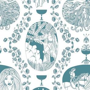 Tales of King Arthur - blue