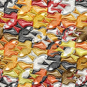 Fancy Goldfish Tessellation 2