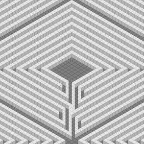 06178463 © 3D maze mosaic
