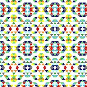 Random triangle pattern