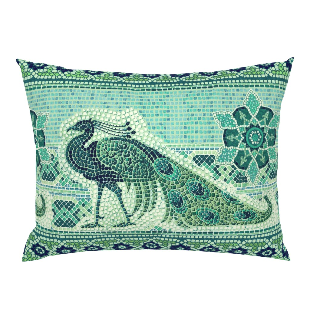 Campine Pillow Sham featuring Peacock by chicca_besso