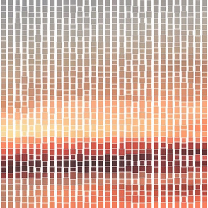 Sunset Mosaic Small