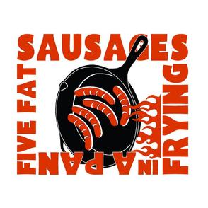 Sausages Tea Towel