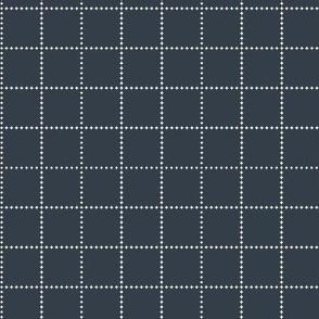 Dark Slate Diamond Checkerboard
