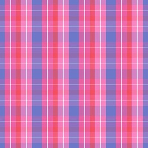pink purple red plaid eleven