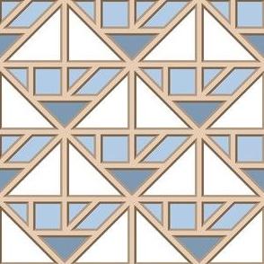 00618545 : tangram diamond fretwork
