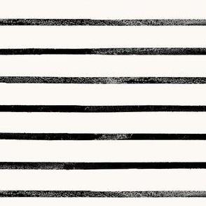 Mod Thin Stripe - cream