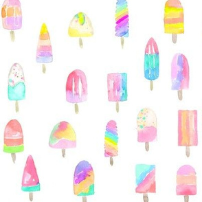 all of the popsicles