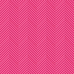 Herringbone Pink // pink chevron