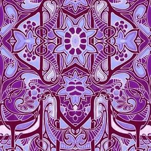 Purple Paisley Wing Thing
