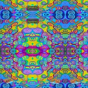 Klimt Tree of Life Mandala