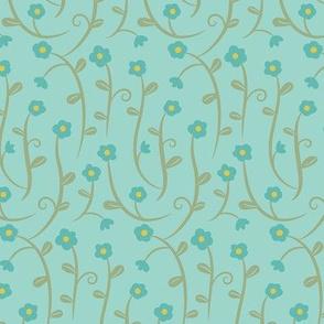 Flower_Crossing_Blue_on_Blue