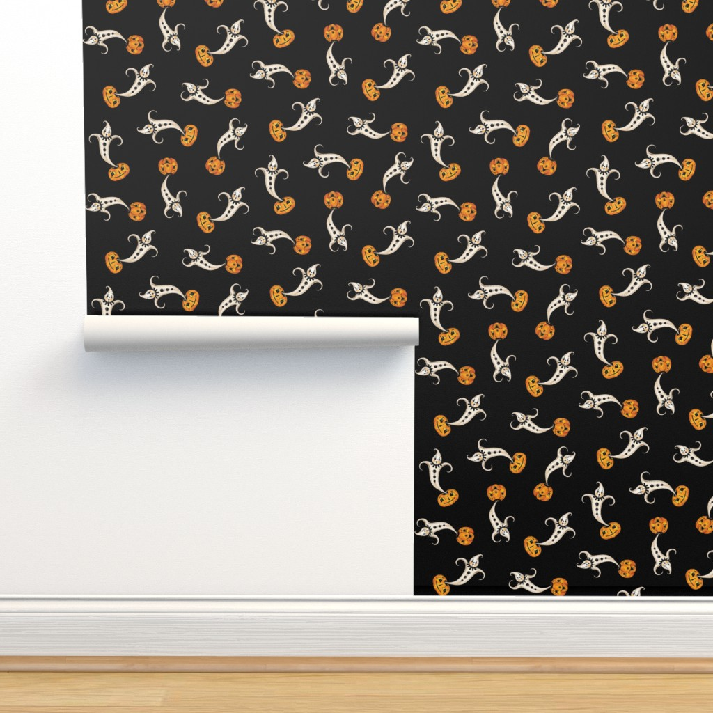 Isobar Durable Wallpaper featuring Ghost_Genie_ by johannaparkerdesign