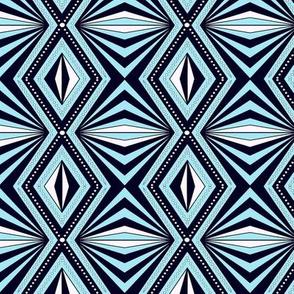 Geo Optical blue sewindigo